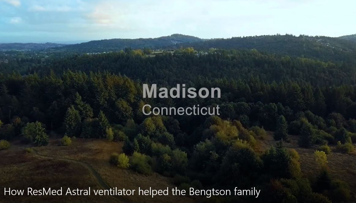 How ResMed Astral ventilator helped the Bengtson family