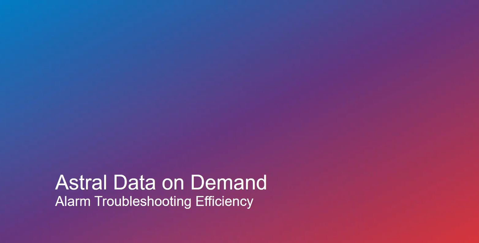 Astral Data on Demand
