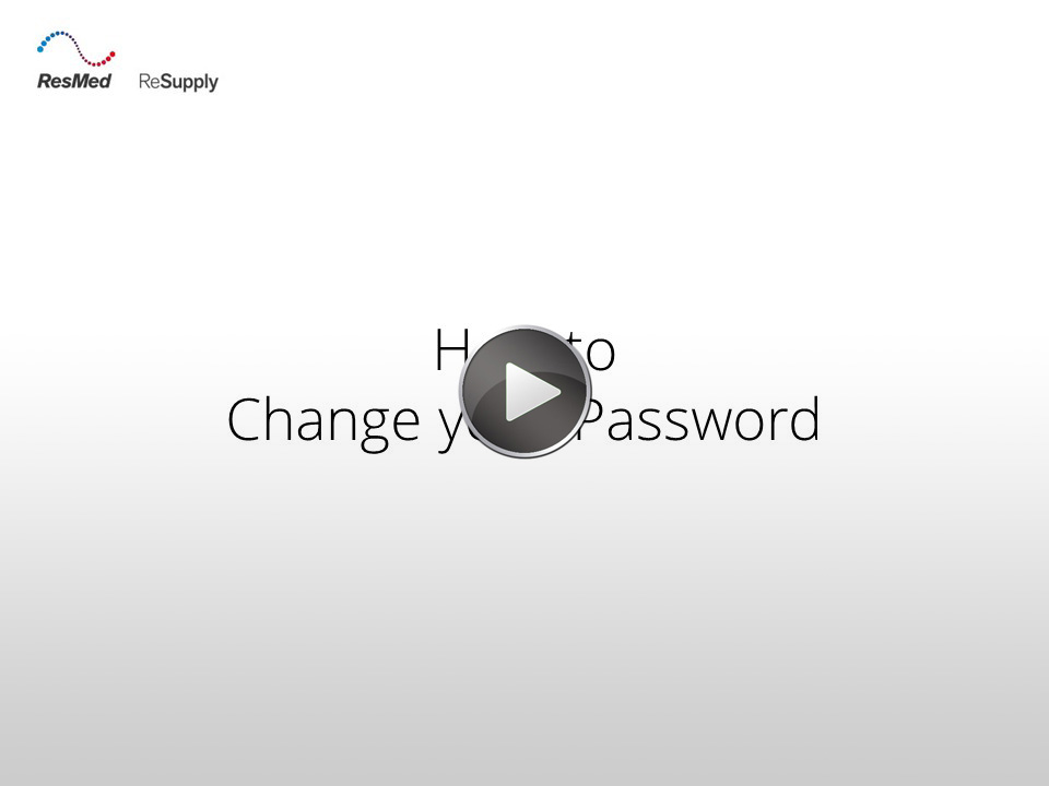 RRS-How to change your password