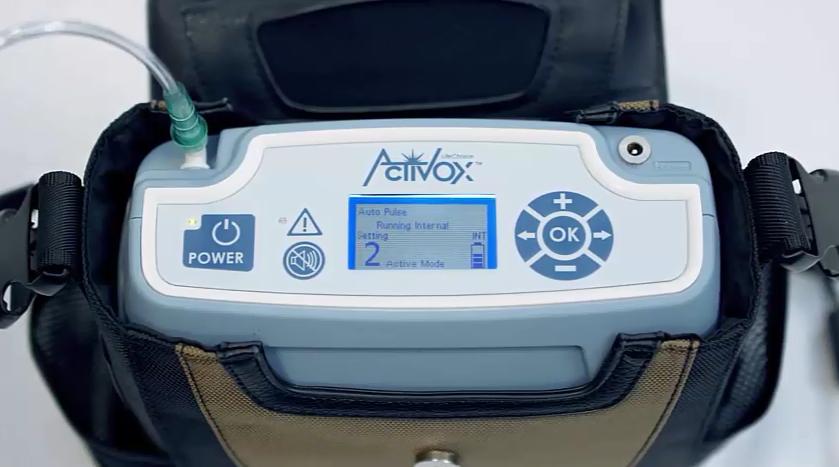 activox measuring oxygen purity