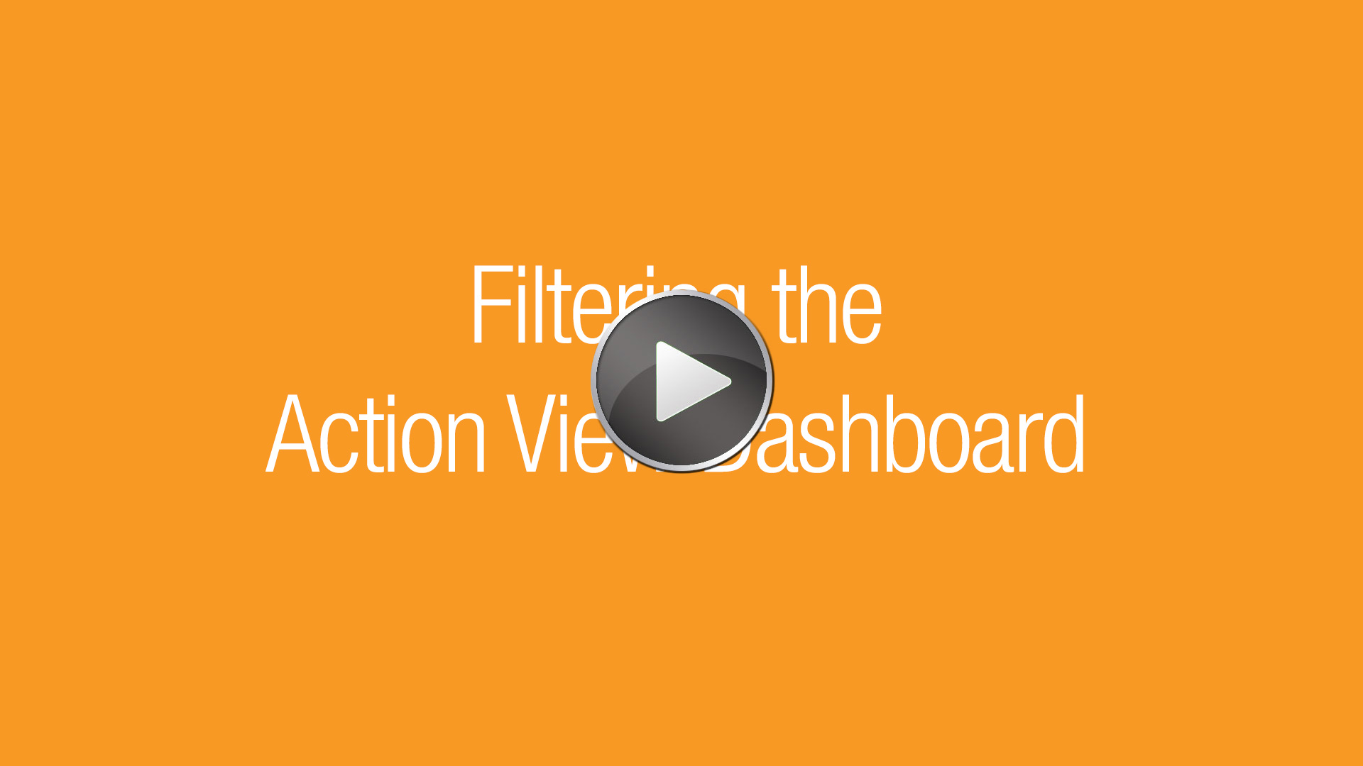 U-Sleep-Filtering the Action View Dashboard
